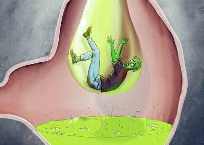 Acide gastrique