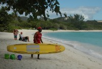 Lindquist Beach is one of the best beaches on st. thomas