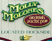 Molly Molone's Restaurant in St. Thomas