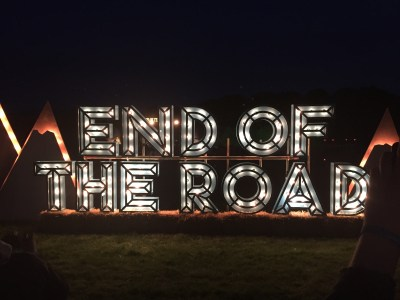 End of the Road - Night signs