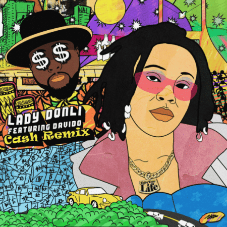lady donli ft davido cash remix