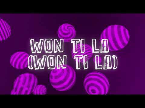 Candy Bleakz – Won La Lyrics Video Artwork