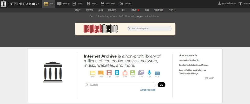 internet archive free music image creative commons