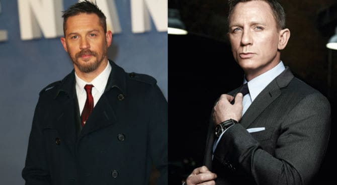 Tom Hardy Daniel Craig james bond mad max