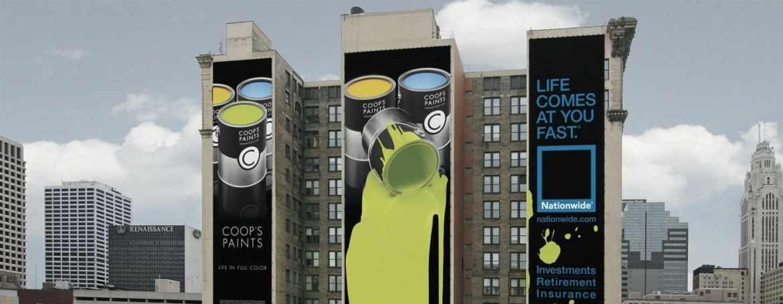 guerrilla marketing paint