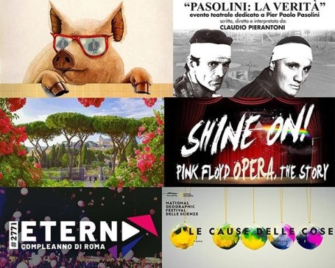 Take a look around: 16/22 aprile