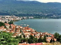 Ohrid - view over the city