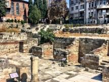 Excavated Roman Baths