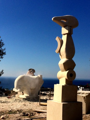 Ayia Napa Sculpture park with more sculptures underway