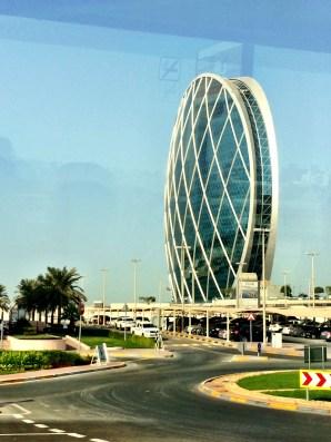 Aldar Headquarters - worlds first circular skyscraper