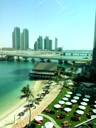 View from Abu Dhabi Mall