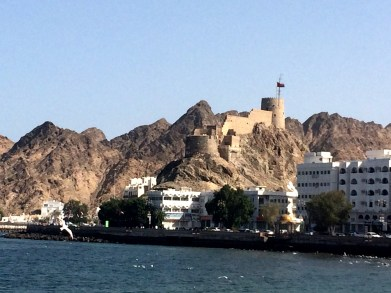 Portugese Fortress above Mutrah