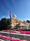 Riyam Monument -theshape of an incense burner