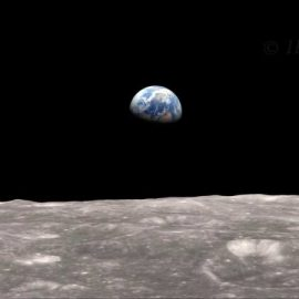 Earthrise – with season's greetings!