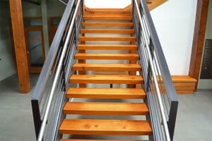 Floating Wood Stair Treads Viridian Wood | Floating Wood Stair Treads | Stair Nosing | Stair Railing | Stair Parts | Viewrail | Trade Assurance