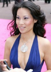 Lucy Liu on the carpet