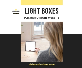 Affiliate Marketing Website - Light Box