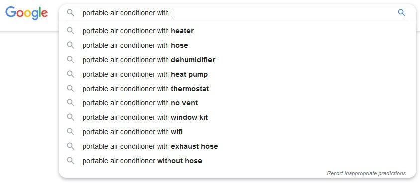 micro niche topics from Google Autosuggest