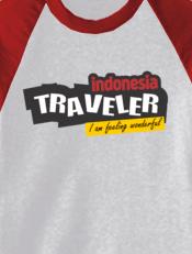 kaos indonesia backpacker