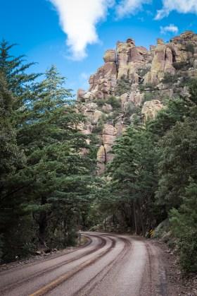 Bonita Canyon in Chiricahua
