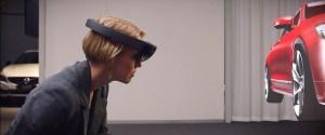 Тюнинг Вольво в очках Microsoft Hololens