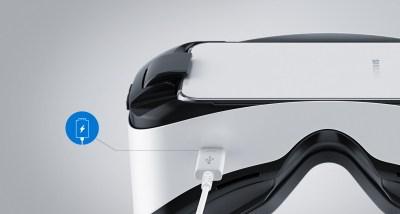 Разъем под зарядное у Gear VR Innovation Edition