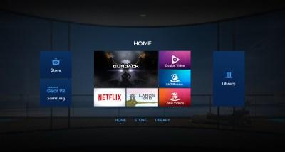 Оболочка Oculus в Gear VR