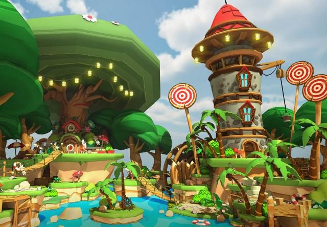 Скриншот из игры Lucky's Tale