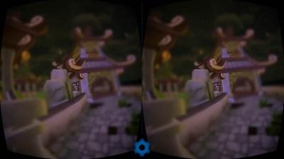 Zen VR глаза кота