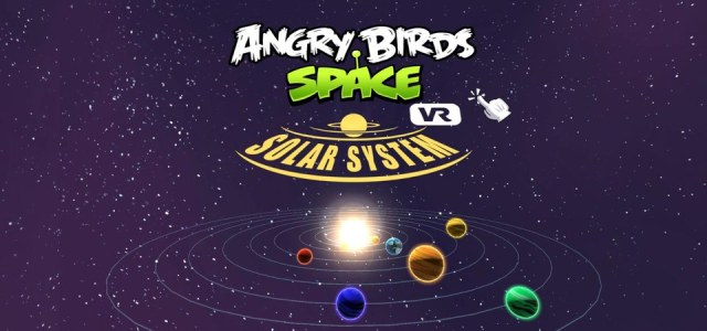 angry birds space vr