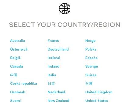 HTC Vive предзаказ список стран