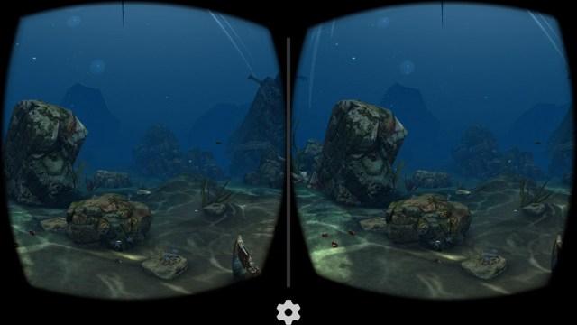 Подводный мир в игре Sea World VR2