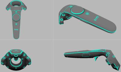 Любительский скин для контроллера HTC Vive