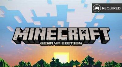 MineCraft Gear VR лого