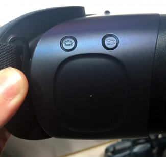 Кнопка Oculus Store на Gear VR