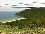 Einsamer Strand. Nur zu sehen aus dem Zug (von NinhBinh) nach DaNang