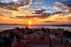 Zadar sunset