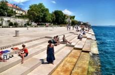 Zadar organs - played by sea