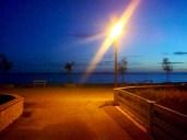 Street to the beach