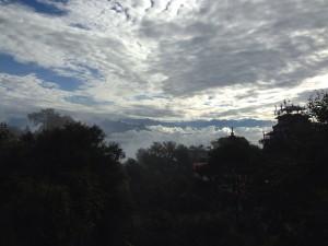 Awan di Himalaya