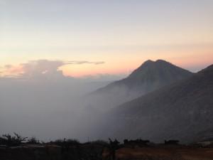 Sunrise di Ijen