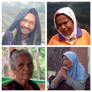 Wajah-wajah penduduk Kelimutu