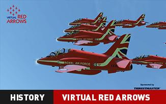 Virtual Red Arrows: History
