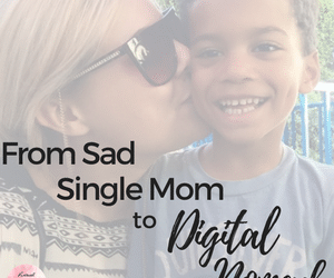 From Sad Single Mom to Working From Anywhere in Bali