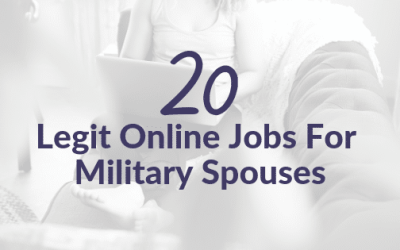 20 Legit Virtual Jobs for Military Spouses
