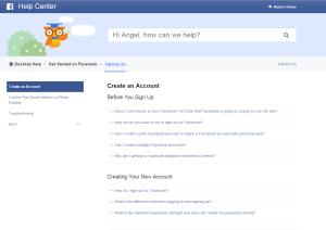 Create an Account _ Facebook Help Center