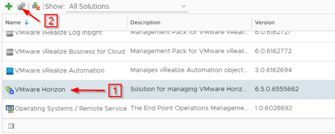 Monitoring VMware Horizon with vRealize Operations Manager Part 1