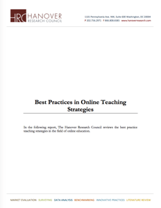 Best Practices for Online Teaching  Strategies Icon