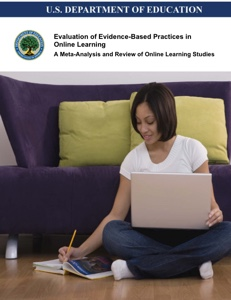 Evaluation of Eveidence-Based Practices In Online Education Book Icon