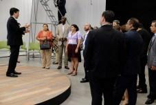 Comitiva de Virtual Educa visita las instalaciones del Centro de Innovación Social.